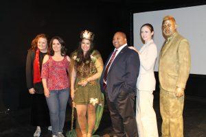 left to right: Lynn Eldredge, Gigi Guizado, Natalie Senecal, G. Scott Spence, Sarah P. Robinson, Timothy Burris Photo Credit: Alyssa Hill