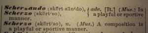 scherzo-definition